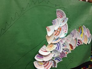 paper plate art project