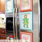 more ways to display kids art