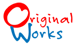original works small colored logo