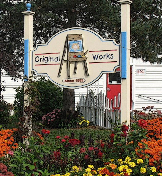 original works building sign