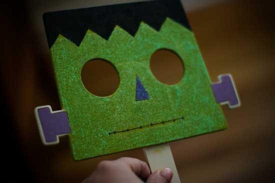 Frankenstein Mask arts and crafts