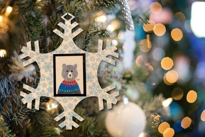 Holiday Snowflake Ornament