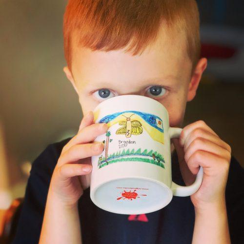 11 oz. customized artwork mug