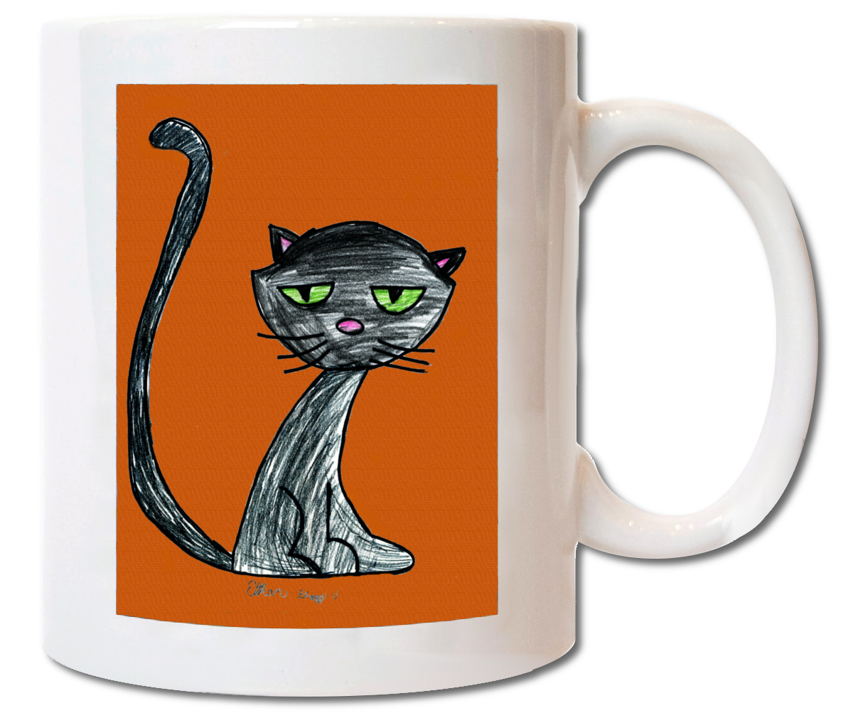 ceramic mug - Halloween Fundraiser Ideas