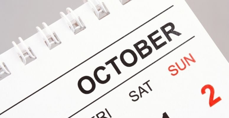 about october